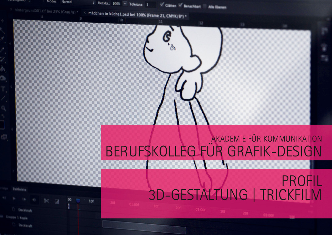 Medientechnik im Berufskolleg Grafik-Design