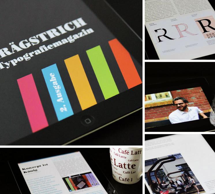 Schrägstrich 2.0 – Typografiemagazin