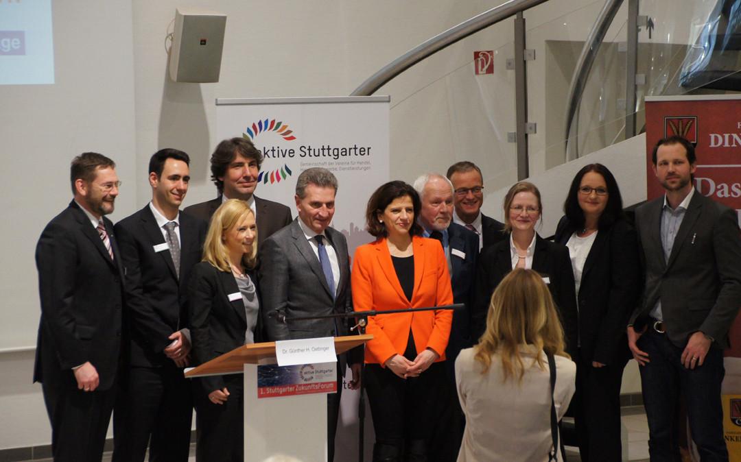 Die HfK+G auf dem 1. Stuttgarter Zukunftsforum