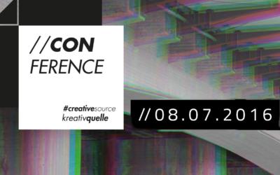 """Fachkonferenz """"Kreativ-Quelle"""" // 8. Juli 2016"""